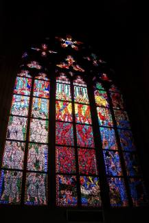Prague, Stained Glass, Church, Beauty